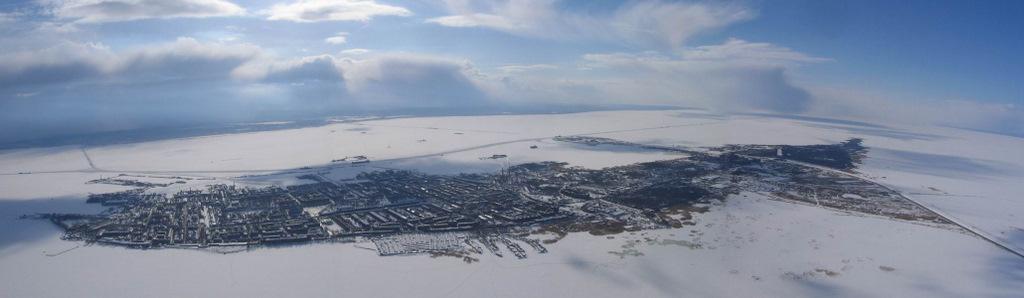Панорама залива спб
