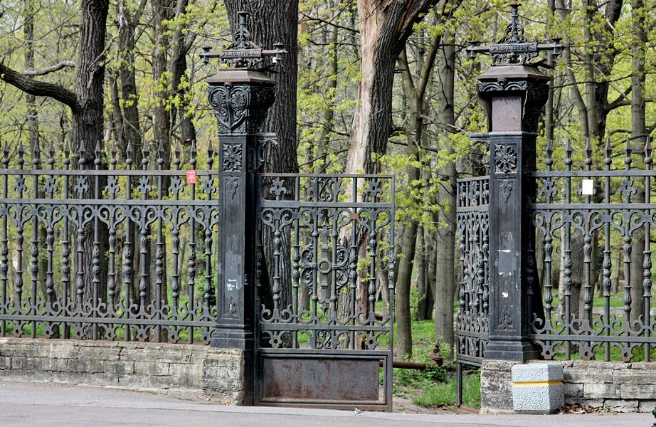 Вход в Летний сад Кронштадта