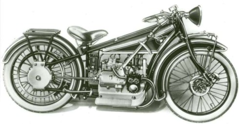 BMW R32 1924 года