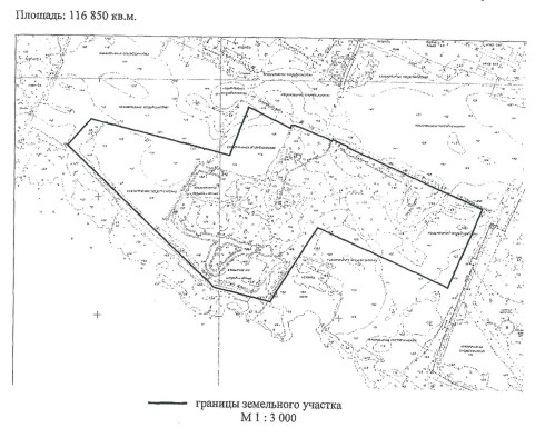 Земельный участок для сноса несанкционированных построек