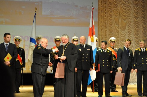 Кронштадт отметил 95-летие соединения подводных лодок