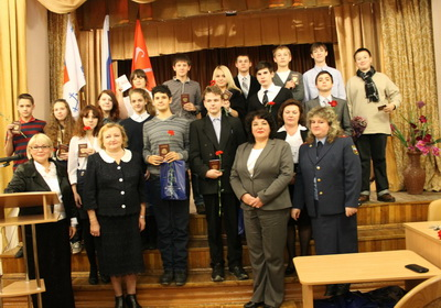 В Кронштадте вручили паспорта будущим избирателям
