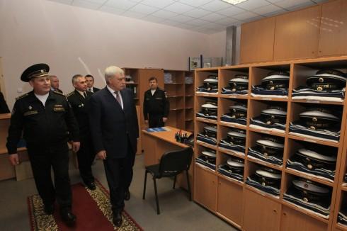 Губернатор встретился с воспитанниками Кронштадтского морского кадетского корпуса