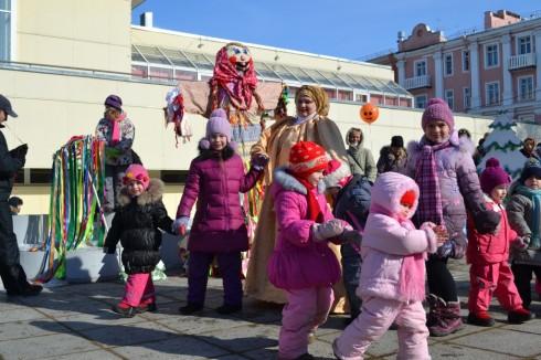 Жителей и гостей Кронштадта приглашают на масленичные гуляния