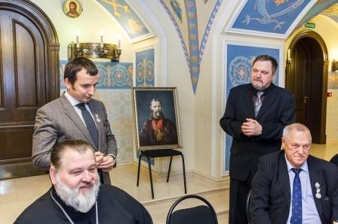 Юрий Ступица представляет свою работу