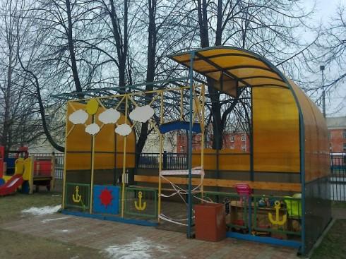 Детская площадка. Детский сад №13.
