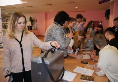 В Кронштадте состоялась деловая игра «Мы выбираем, нас выбирают»
