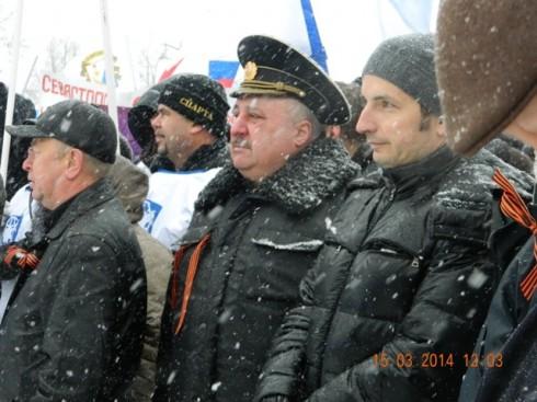 В Кронштадте состоялся митинг в поддержку жителей Крыма