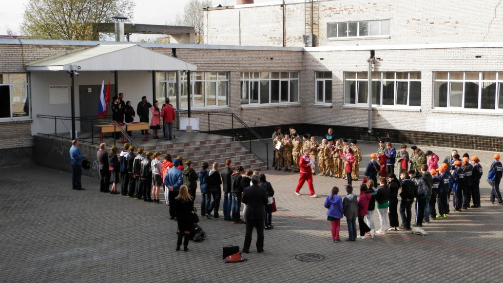 В Кронштадте прошла «Зарница-2014»