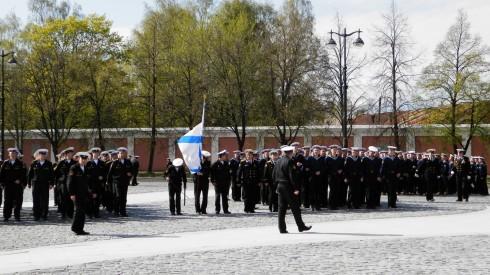 Репетиция торжественного прохождения войск