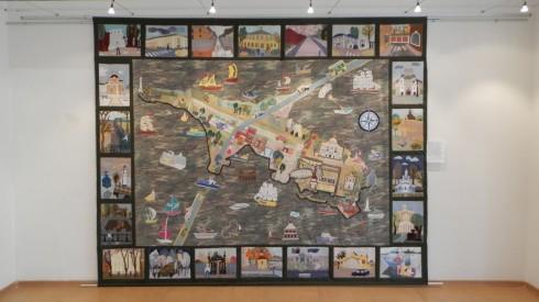 Выставка детского творчества «Мы живем на Балтике»