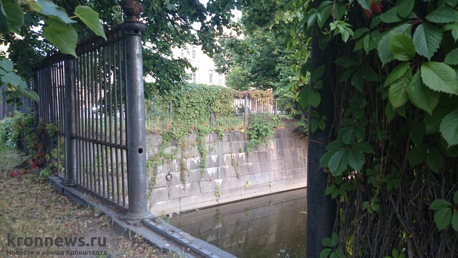фото кронштадтской решетки советского парка хороший антивирус