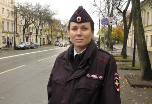 Татьяна Белошицкая - майор полиции из Кронштадта