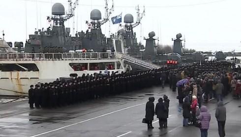 """""""Адмирал Владимирский"""" в Кронштадте"""