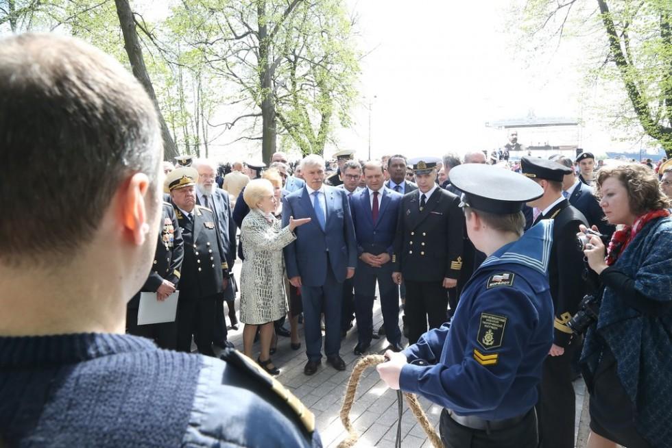 В Кронштадте прошел День памяти, посвященный 110-летию Цусимского сражения