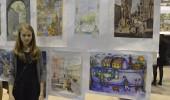 Учащиеся художественной школы приняли участие в конкурсе «Любимый город»