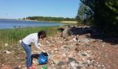 Кронштадт принял участие во всероссийской акции МЧС России «Чистый берег»