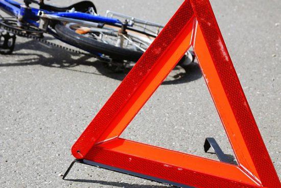Авария велосипед