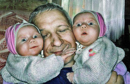 Vladimir Matva Счастливый дедушка
