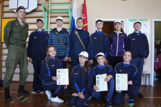 """Команда """"Волна"""", школа № 422 - 3-е место в Зарнице"""