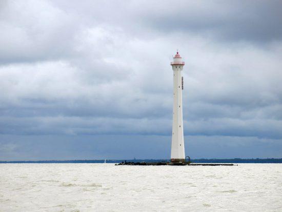 Ксения Самарина. Задний створный маяк Морского канала